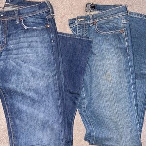 New York & Company boot cut jeans